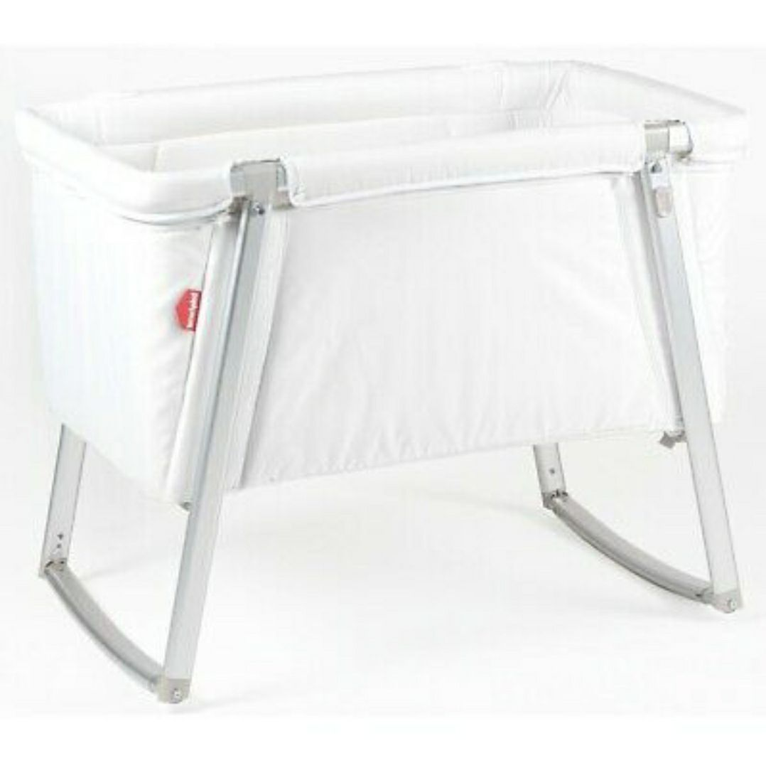 babyhome dream little cot bassinet -Rose