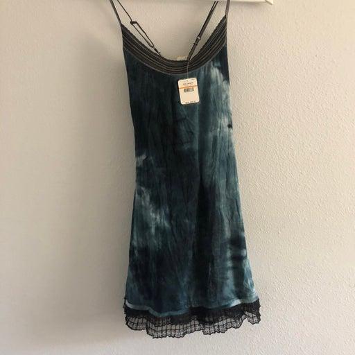 Free People Intimately Sleep Tie Dye Dress Small