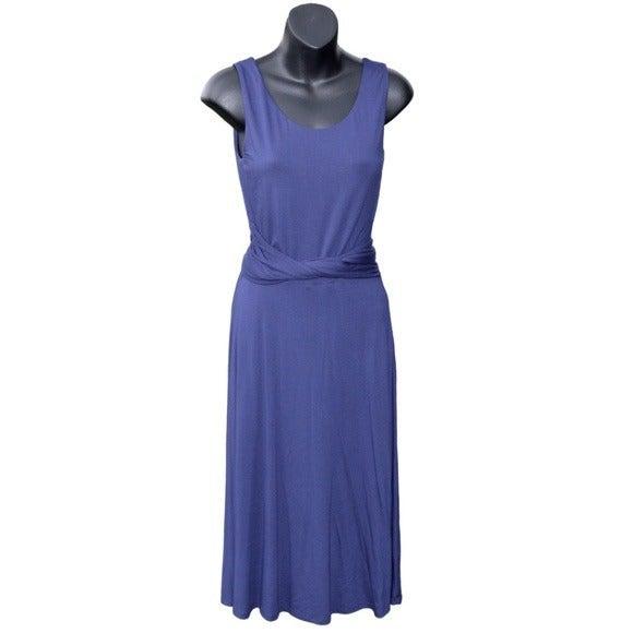 Boden Sleeveless Tie-Belted Dress