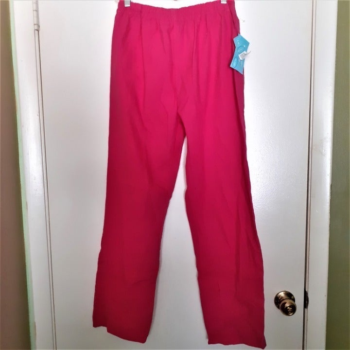 The Scrub Company pink scrub pants Small