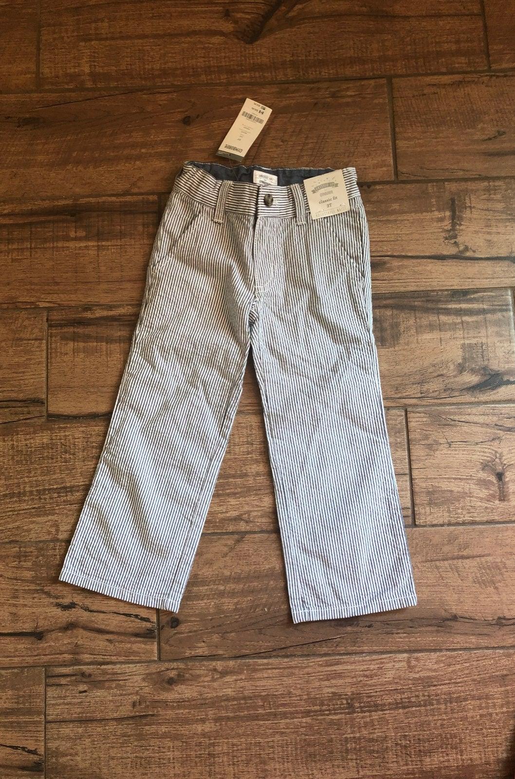 Gymboree Seersucker Pants 3T New!