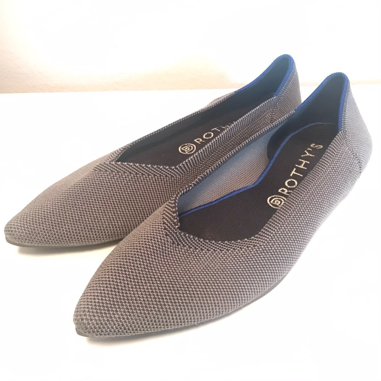 Rothy's Point Grey Flats Size 11