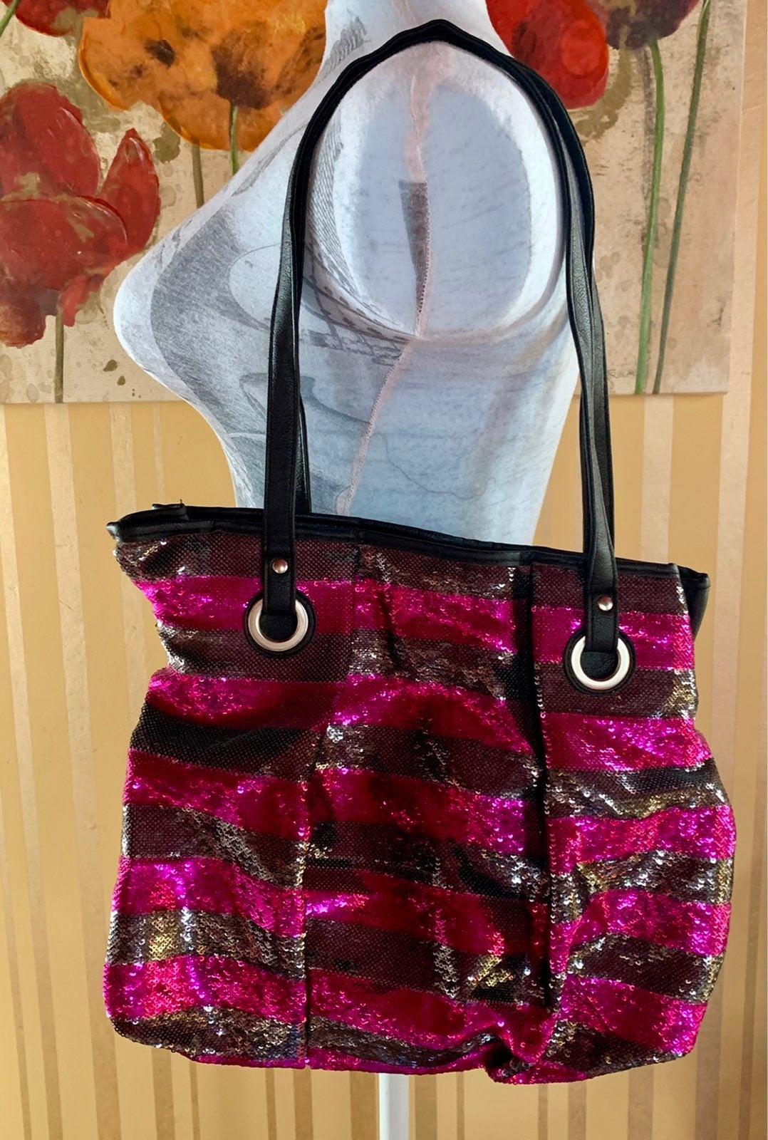 Candies sequin handbag