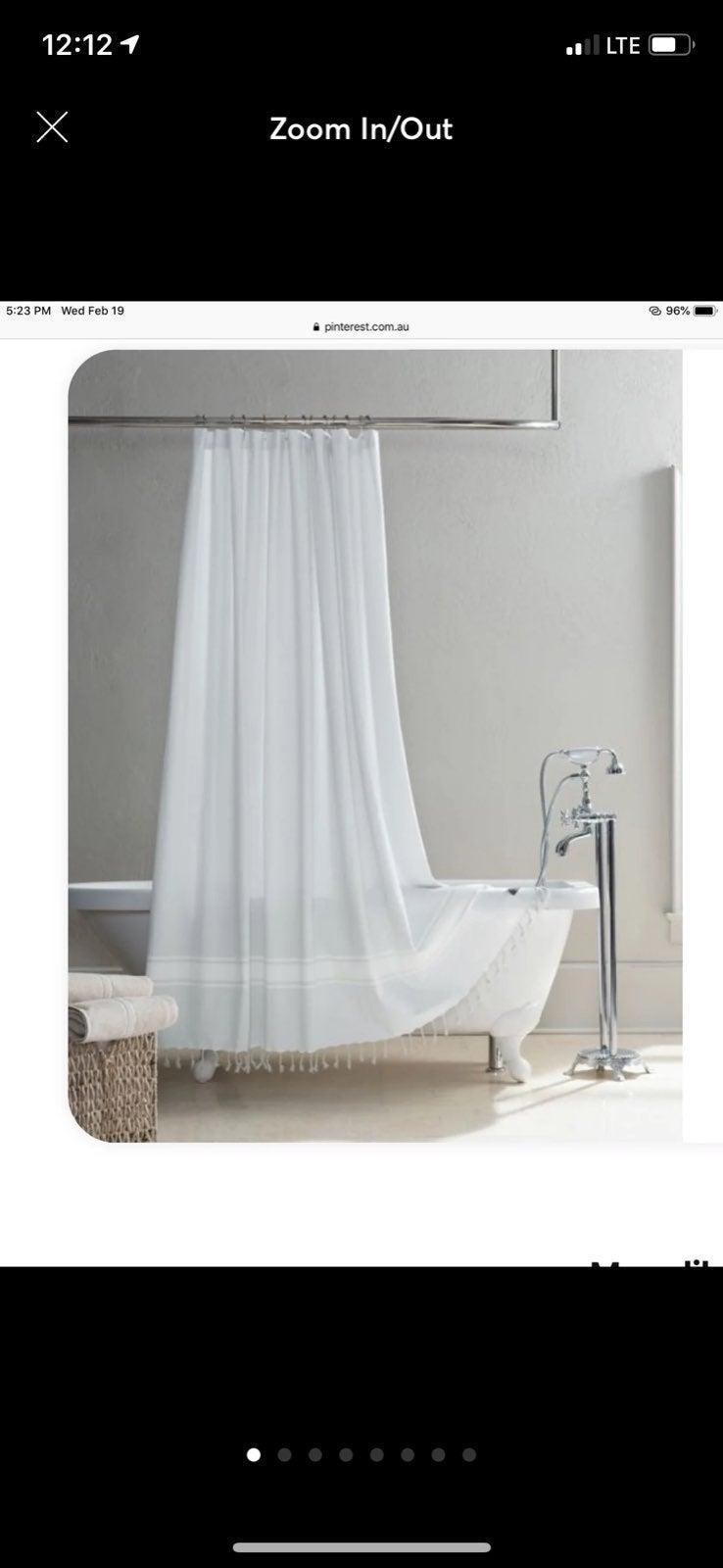 Ugg Costa Mesa Shower Curtain