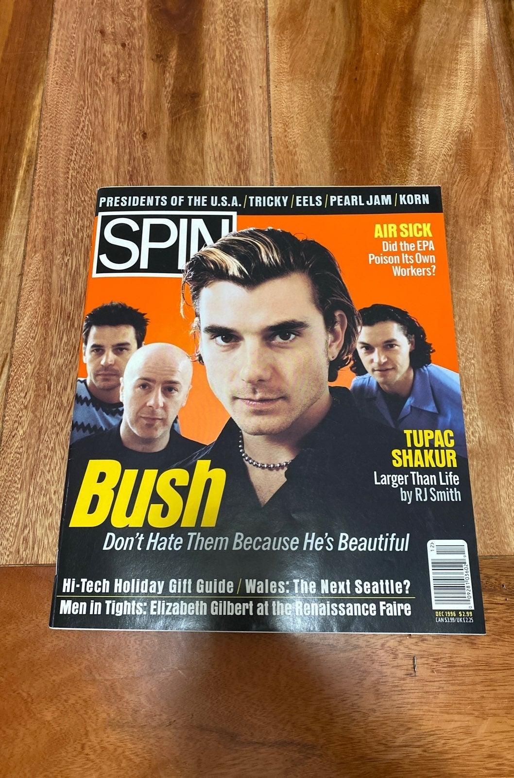Spin Magazine December 1996