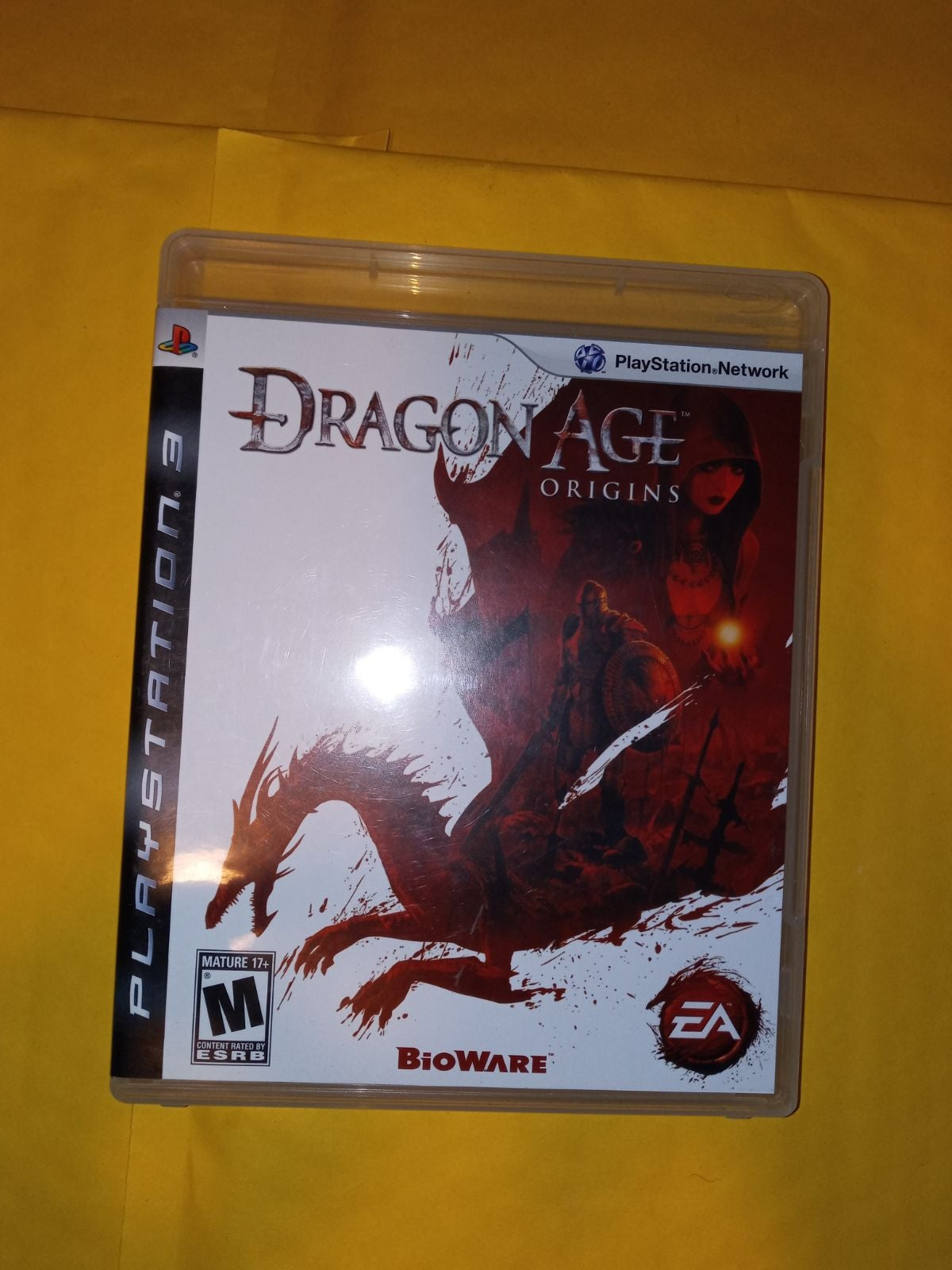 Dragon Age: Origins on Ps3 ( Complete )