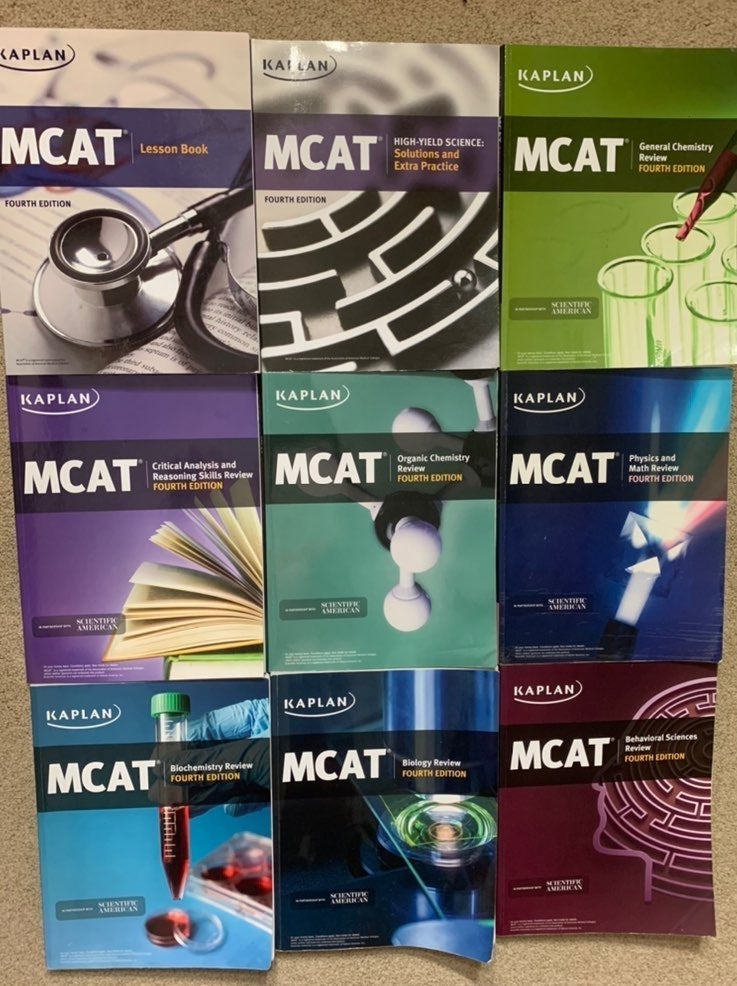 MCAT Kaplan full set