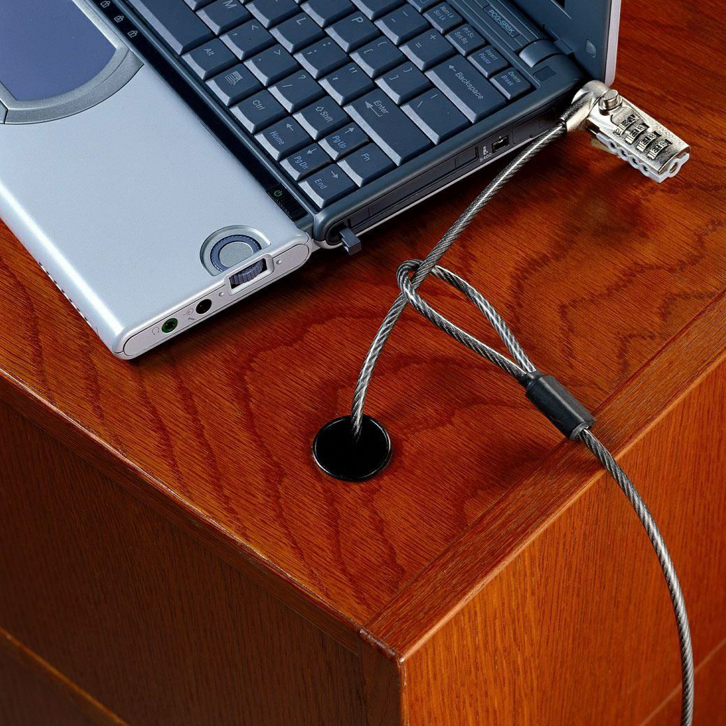 Laptop Combination 6-Foot Cable Lock