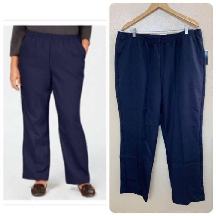 Karen Scott Plus Pull on Comfort Pants