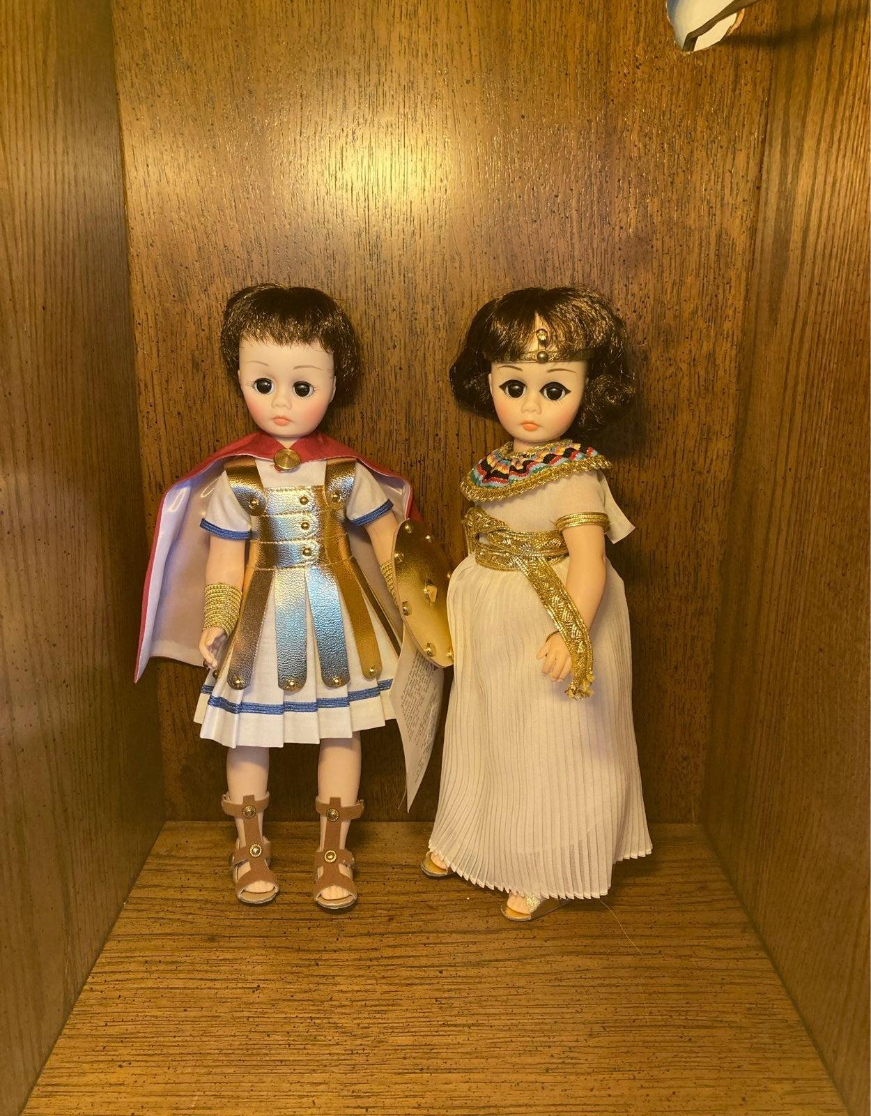 Cleopatra / Antony Dolls