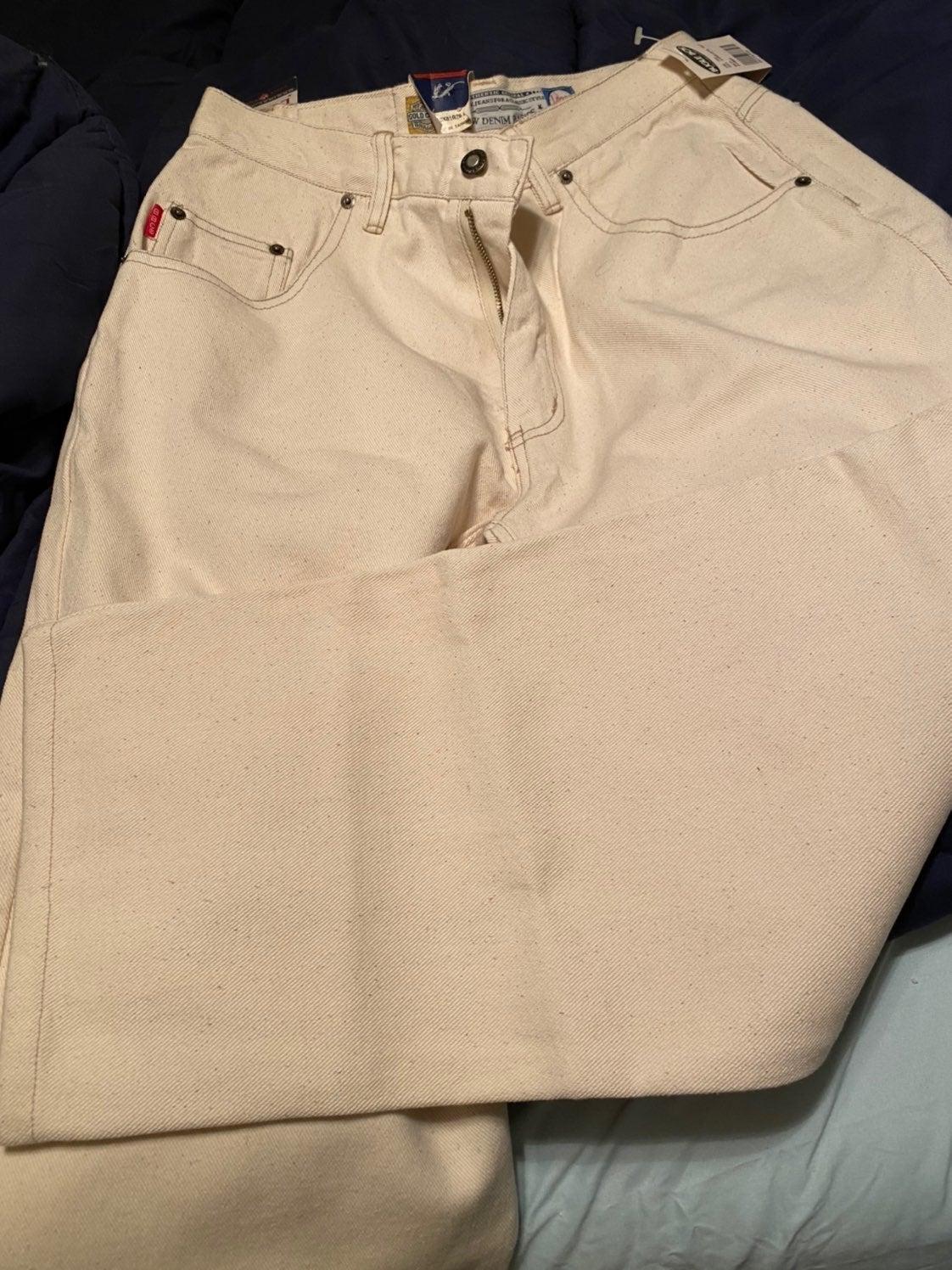 Mens Deadstock Vintage Bugle Boy Jeans