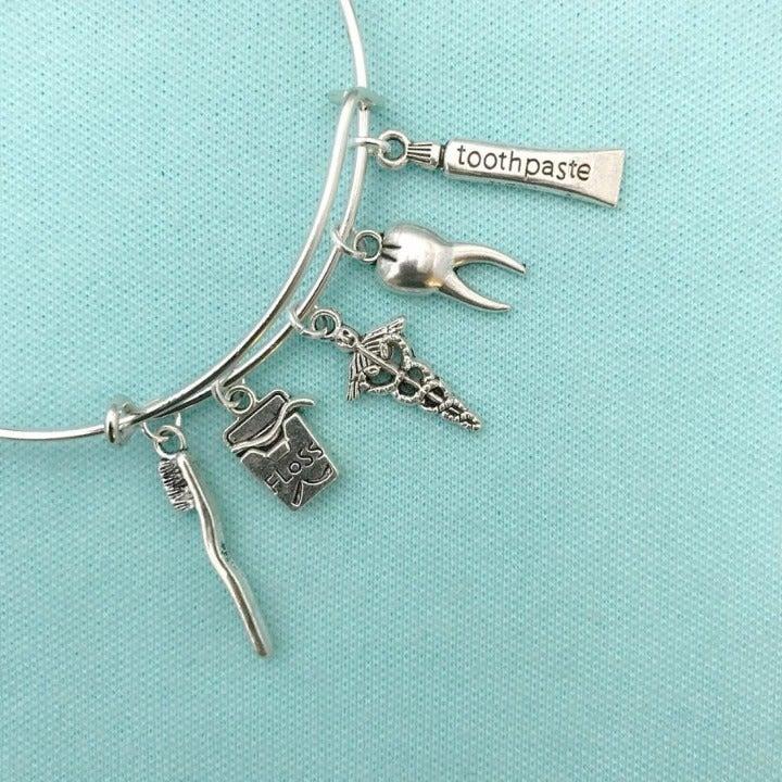 Dental Charms Expendable Bracelet.