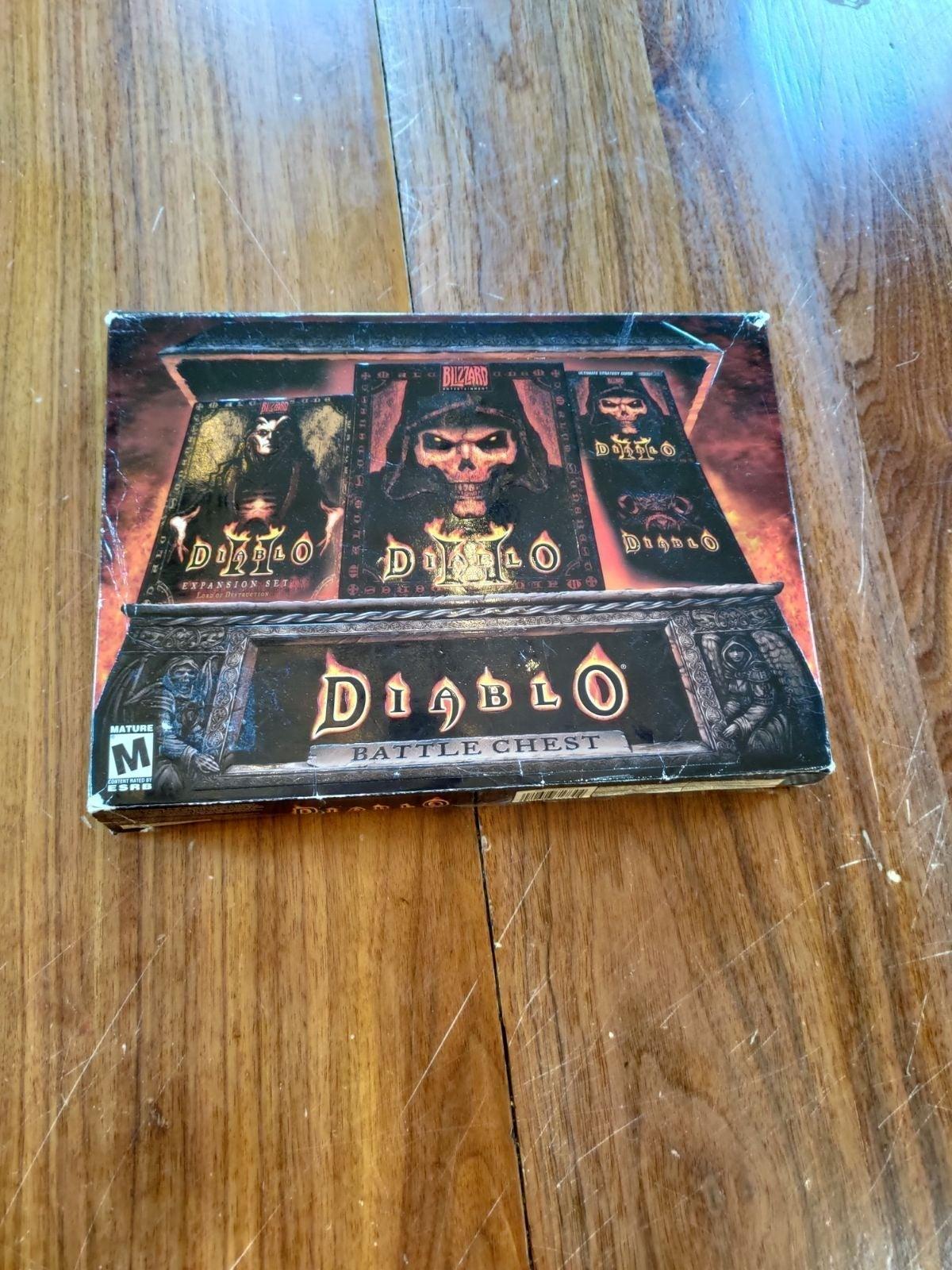 Diablo I & II Battle Chest Incomplete