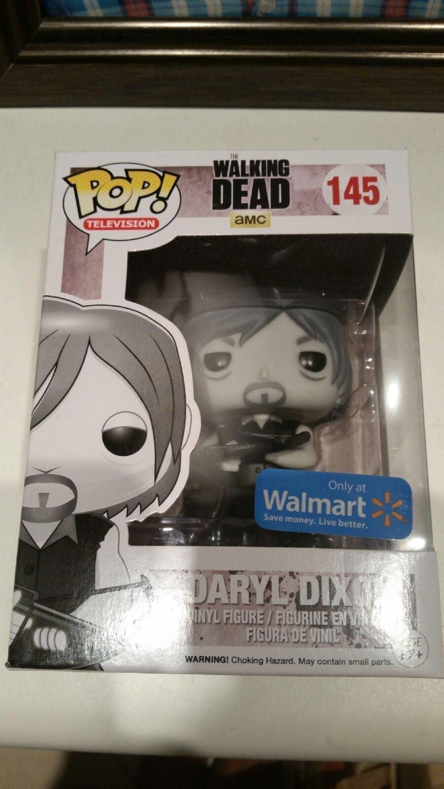 Funko pop Daryl Dixon Walmart The Walkin
