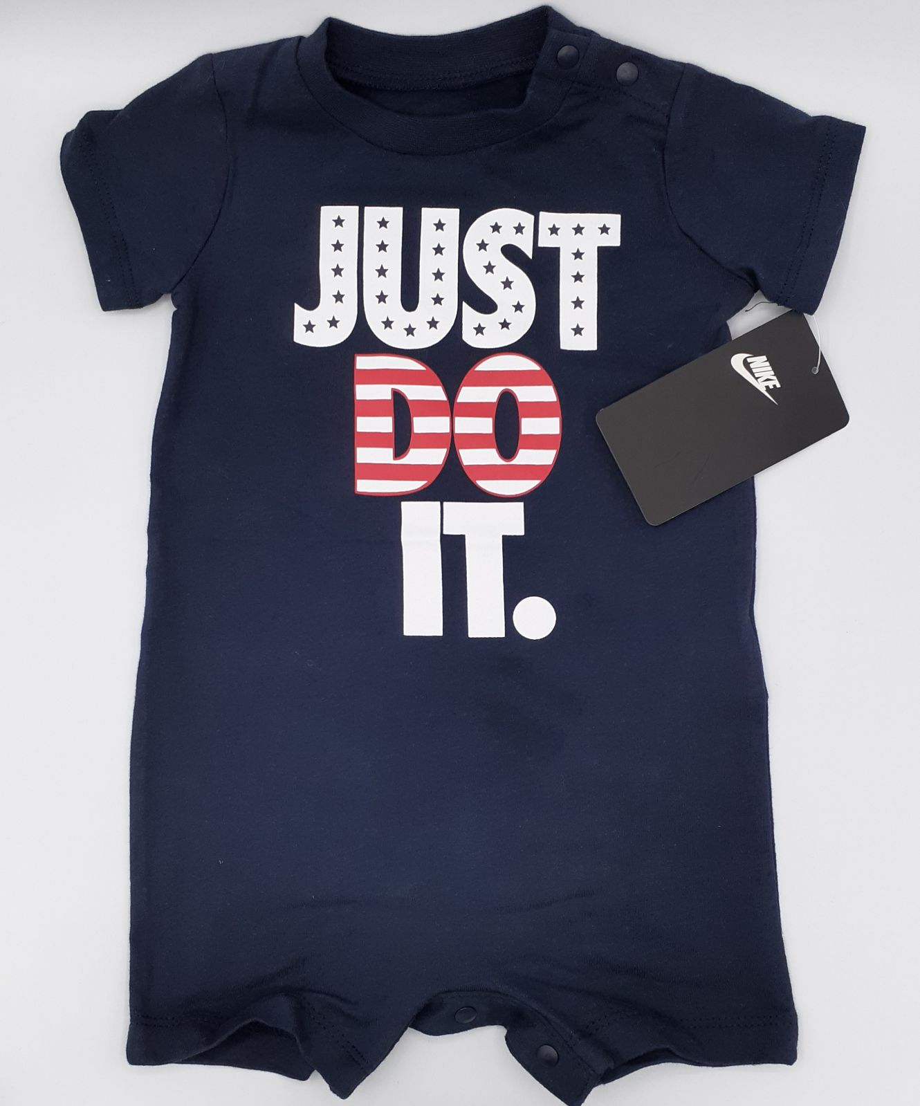 NIKE BABY ROMPER 9M JUST DO IT NWT