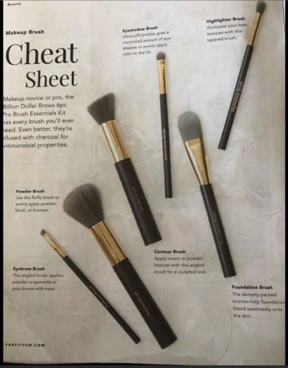 BN Billion Dollar Brows 6pc Pro Brush Kit