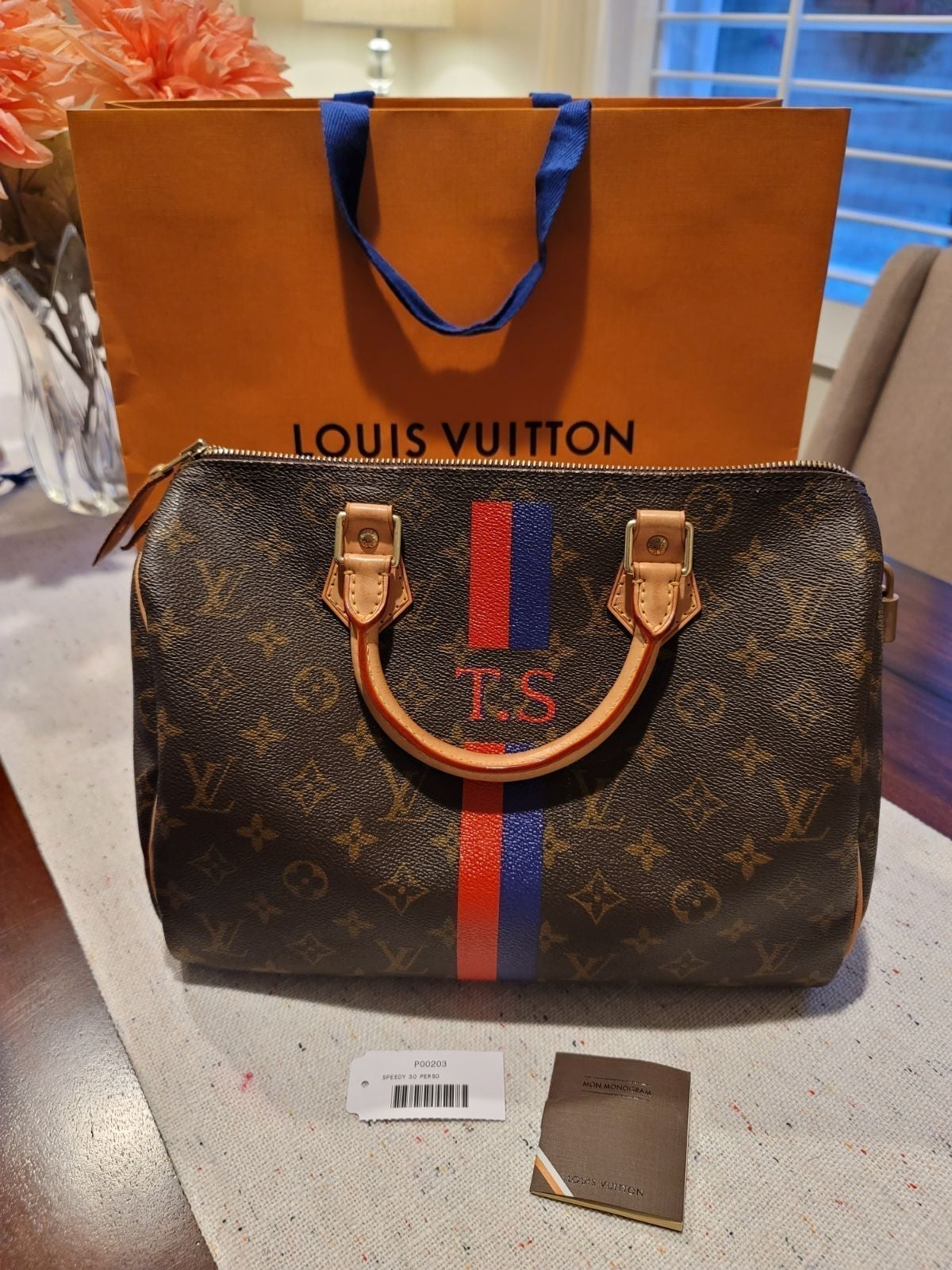Louis Vuitton Speedy 30 heritage