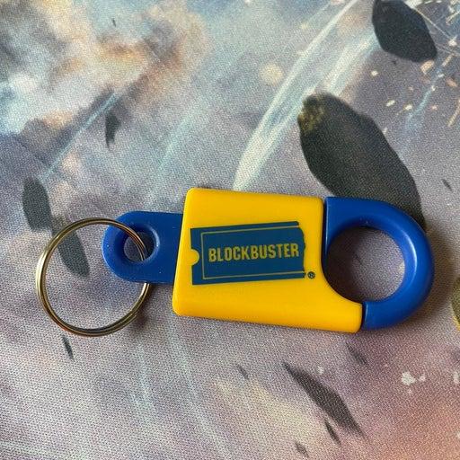 Vintage Blockbuster Keychain