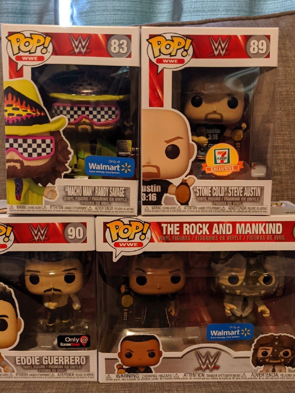 WWE Funko Exclusives Lot