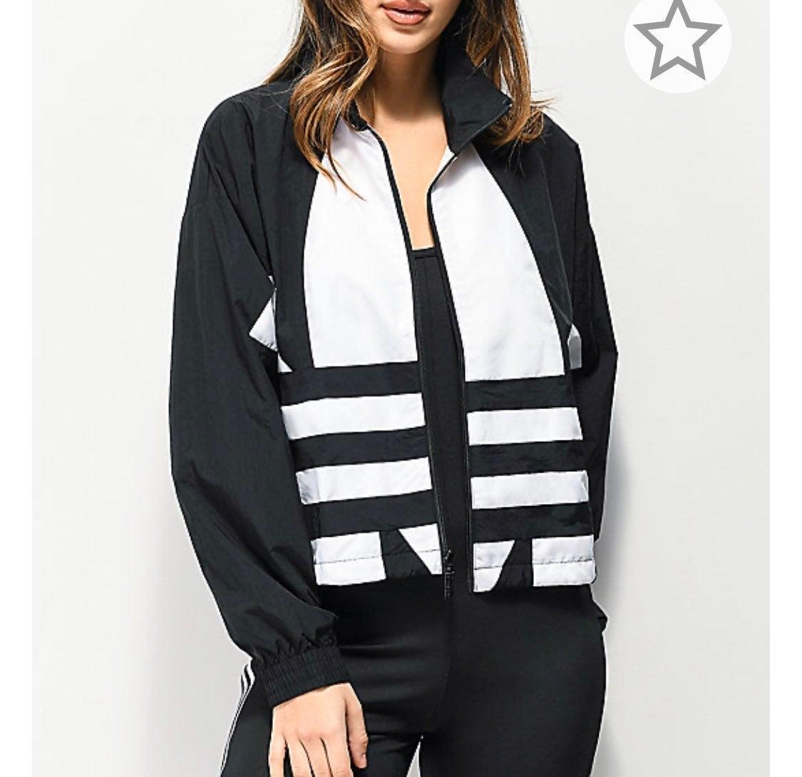Adidas Womens Large Logo Jacket