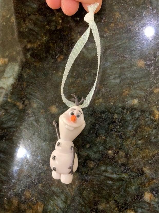 Olaf Ornaments Handmade