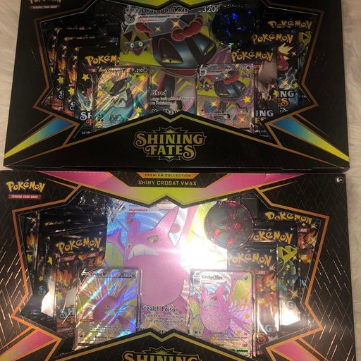 Shining Fates Premium Collection Boxes
