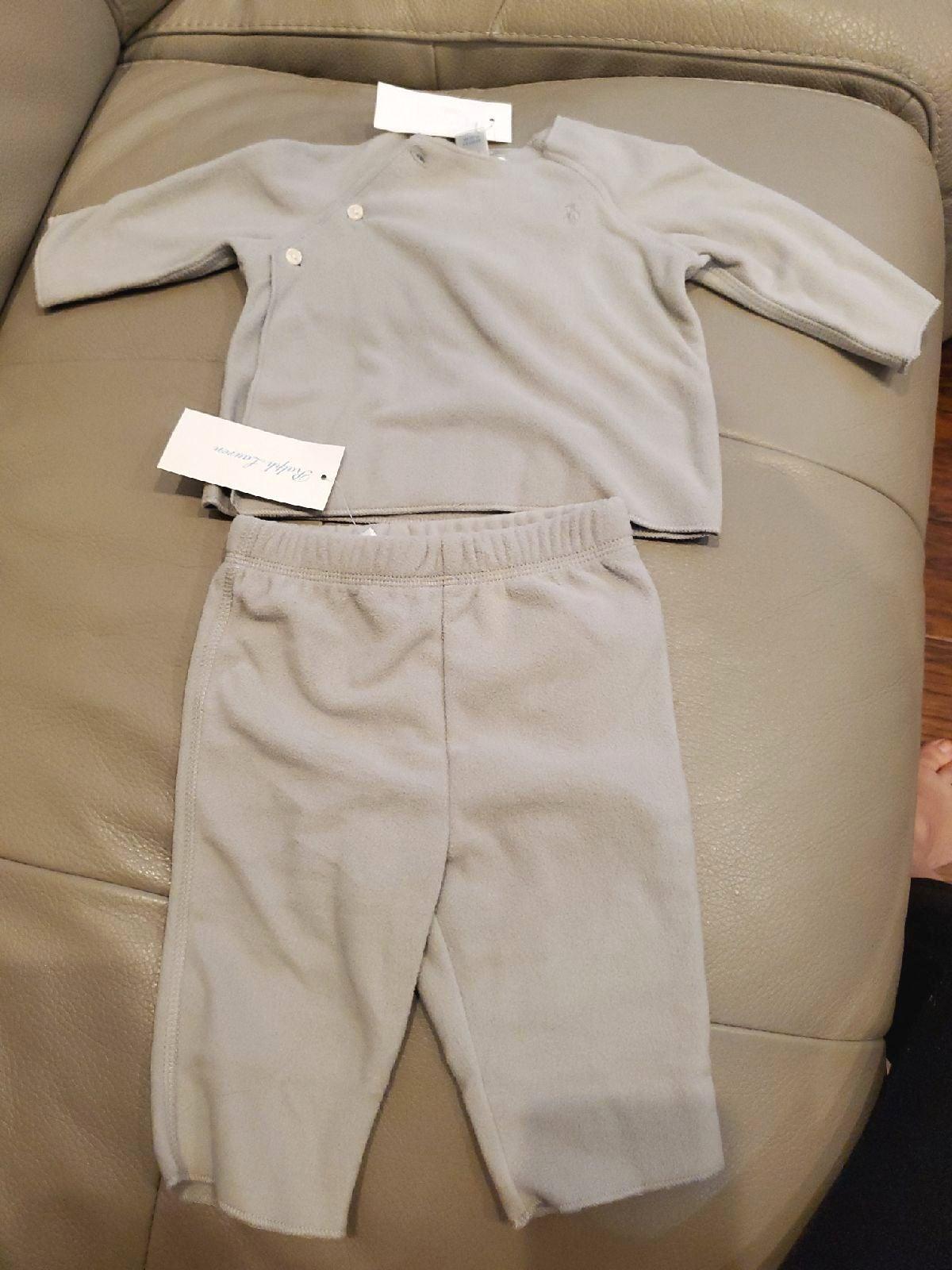NWT Ralph Lauren Unisex Baby Fleece Outf