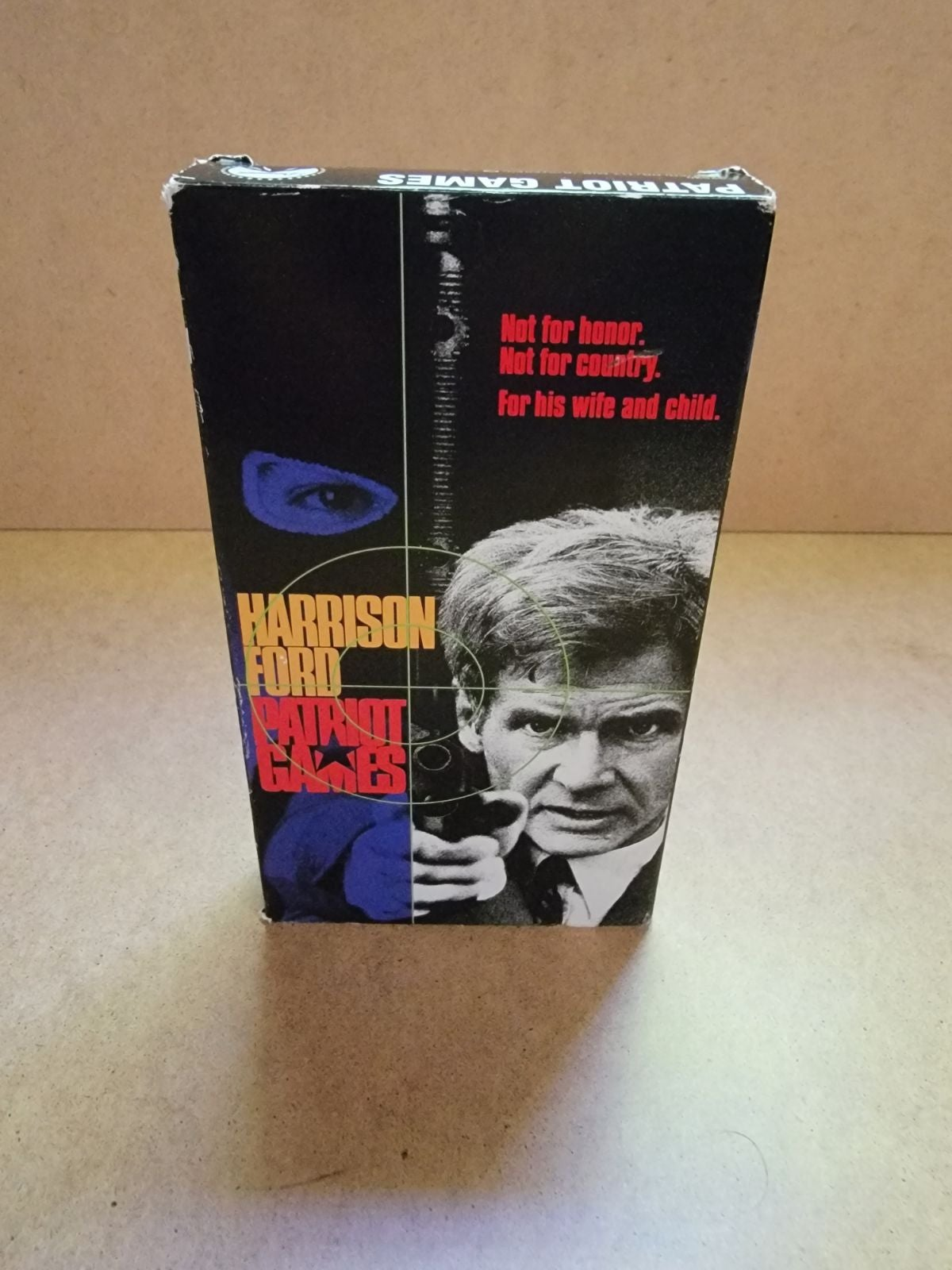 Patriot Games VHS Harrison Ford 1992