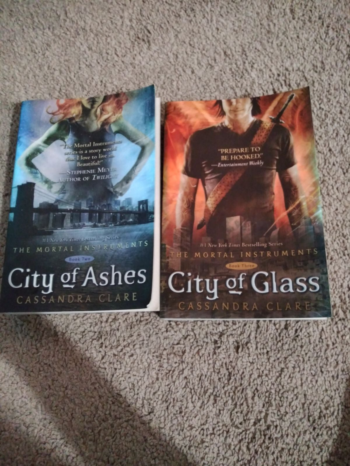 Mortal instument series 2 and 3