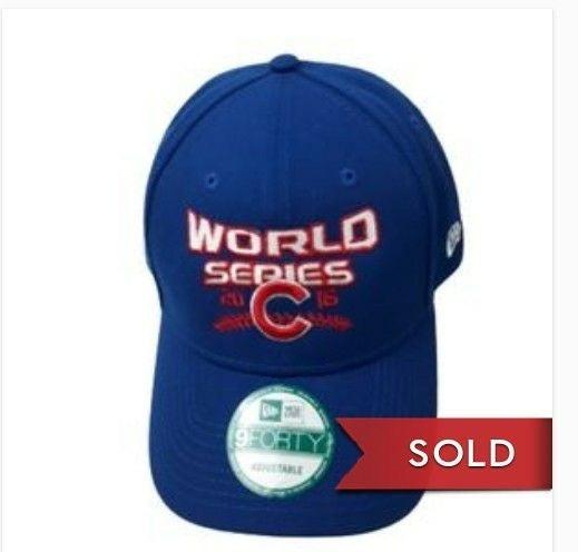 New Era 16 World Series Chicago Cubs cap