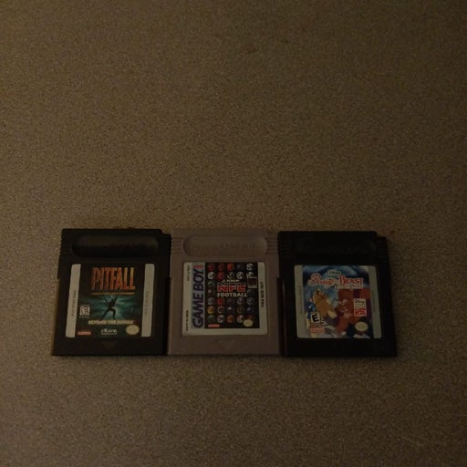 Gameboy Games Lot (3) Untested