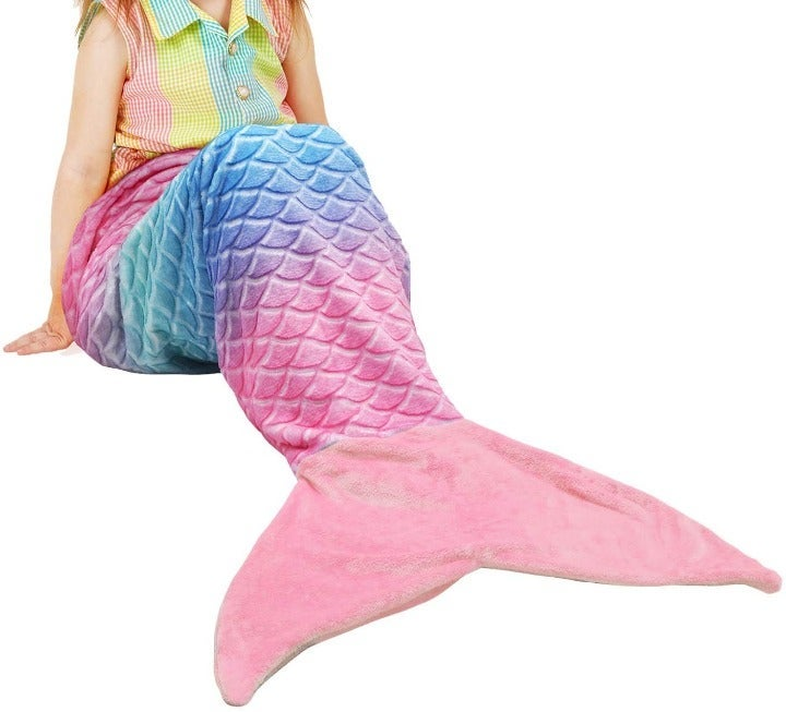 Kids Mermaid Tail Blanket / Sleeping Bag
