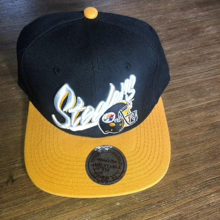 Mitchell and Ness Steelers snapback