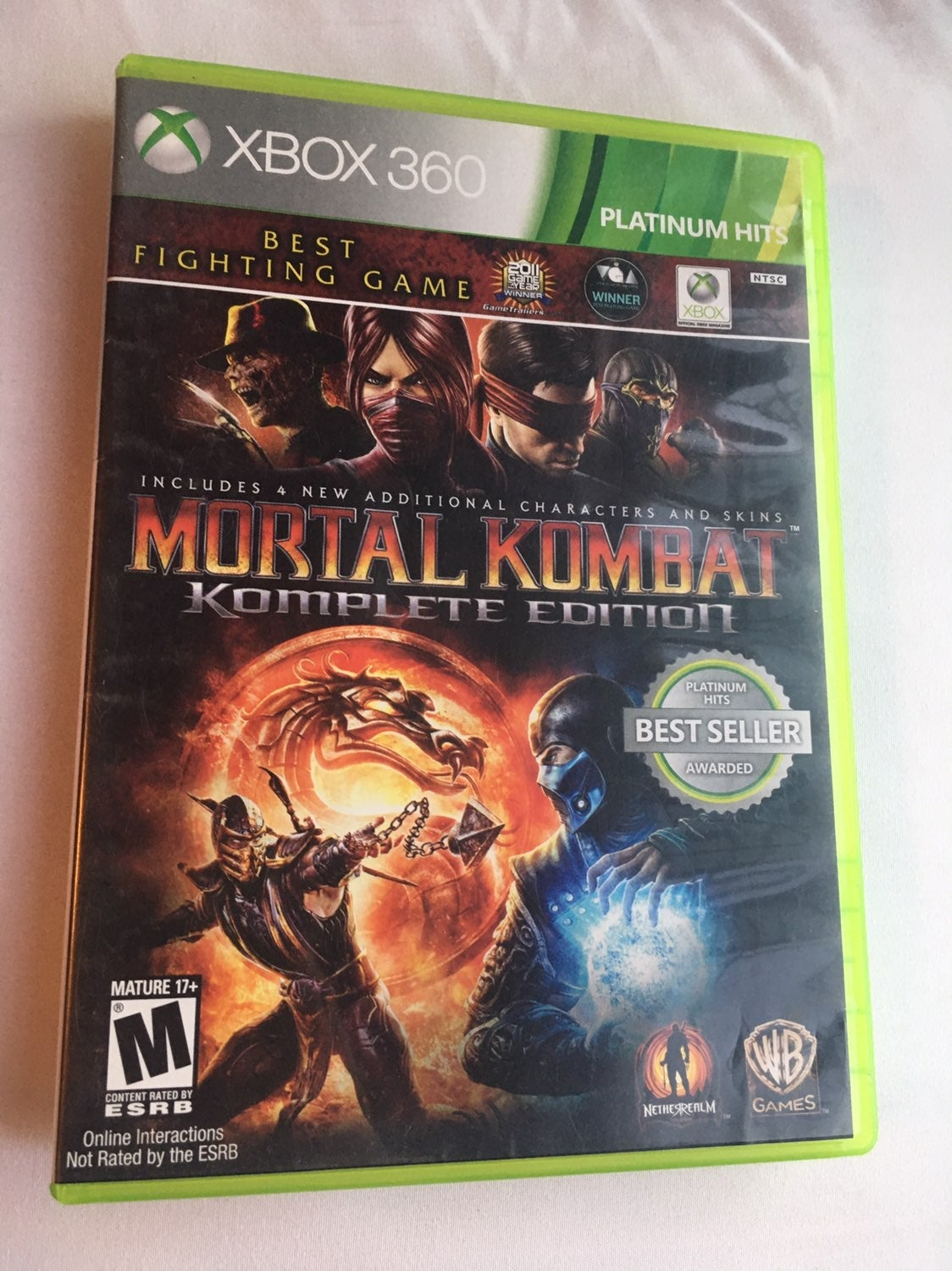 Mortal Kombat: Komplete Edition on Xbox