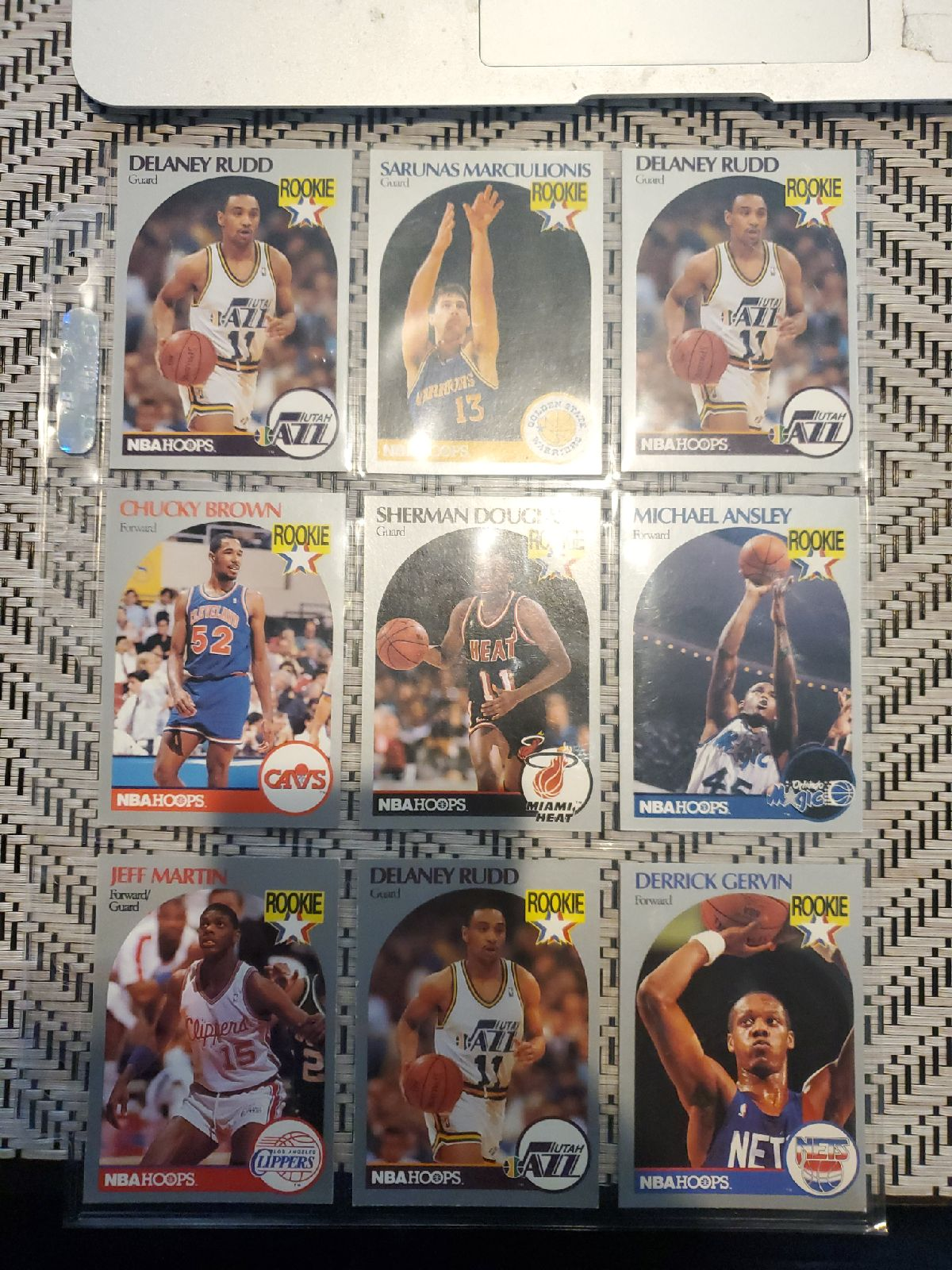 Lot 80s NBA ROOKIE cards