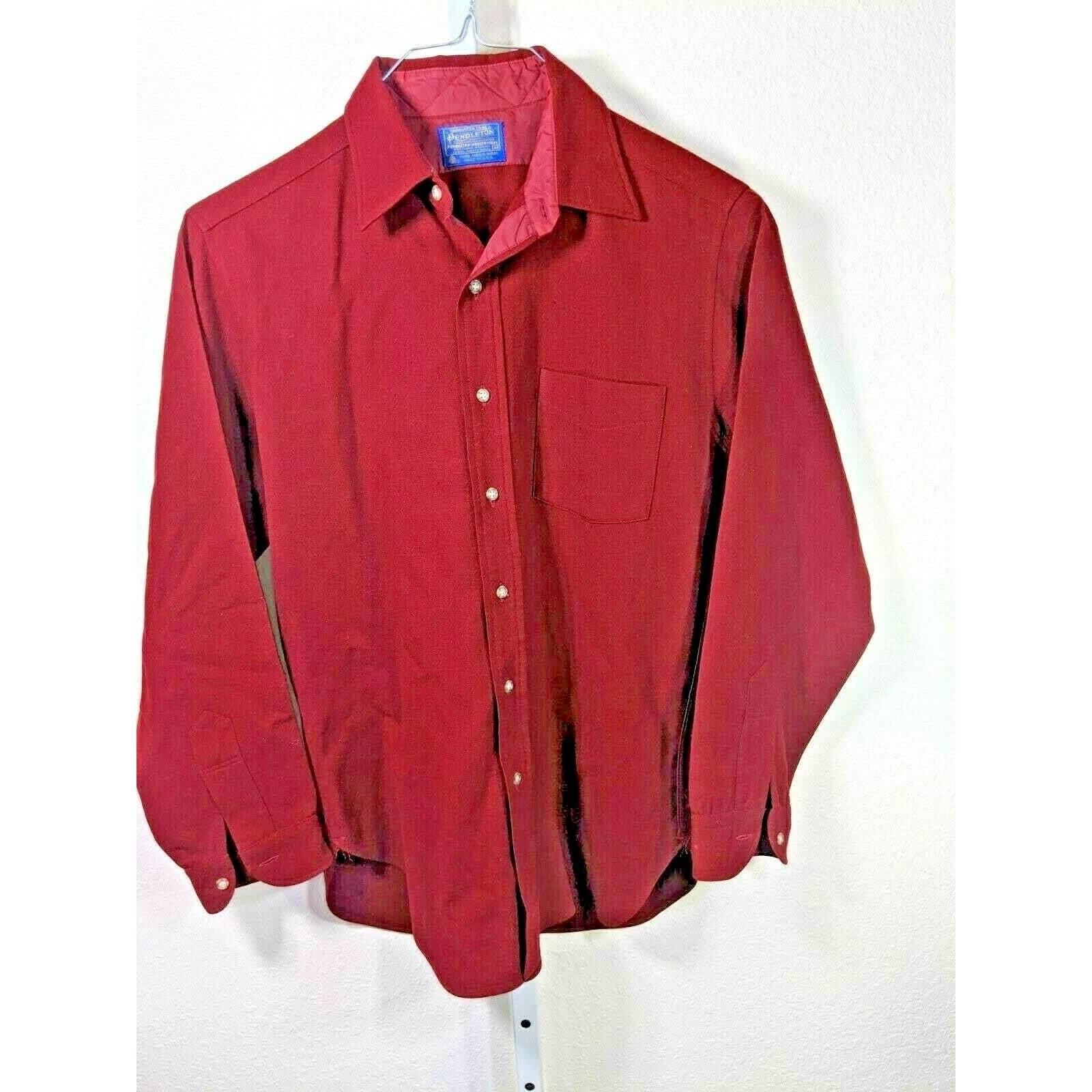 Pendleton Mens Shirt Size Medium  Wool