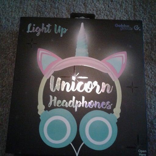 Unicorn Led Light Up Headset