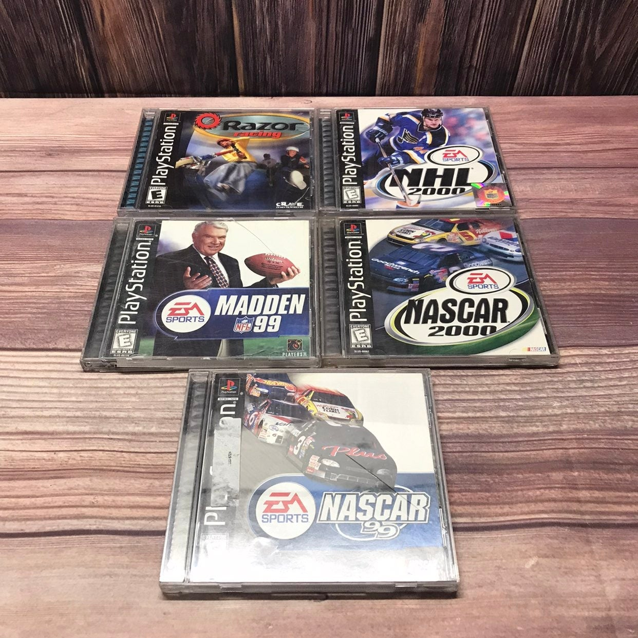 PS1 Video Game Lot Sony Playstation 1