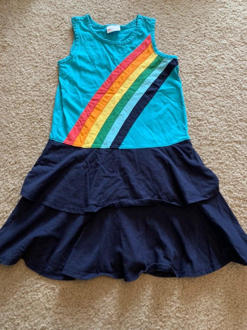 Hanna andersson rainbow dress