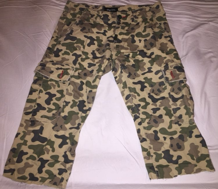 LRG Roots Generation Camo Pants -Size 32