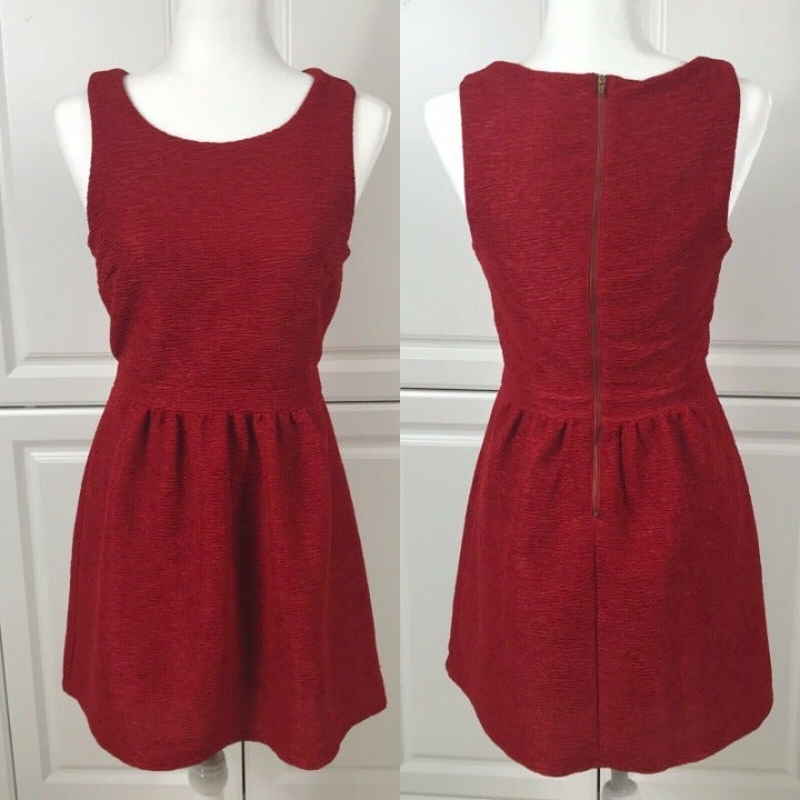 Womens Forever 21 Size M Red Dress
