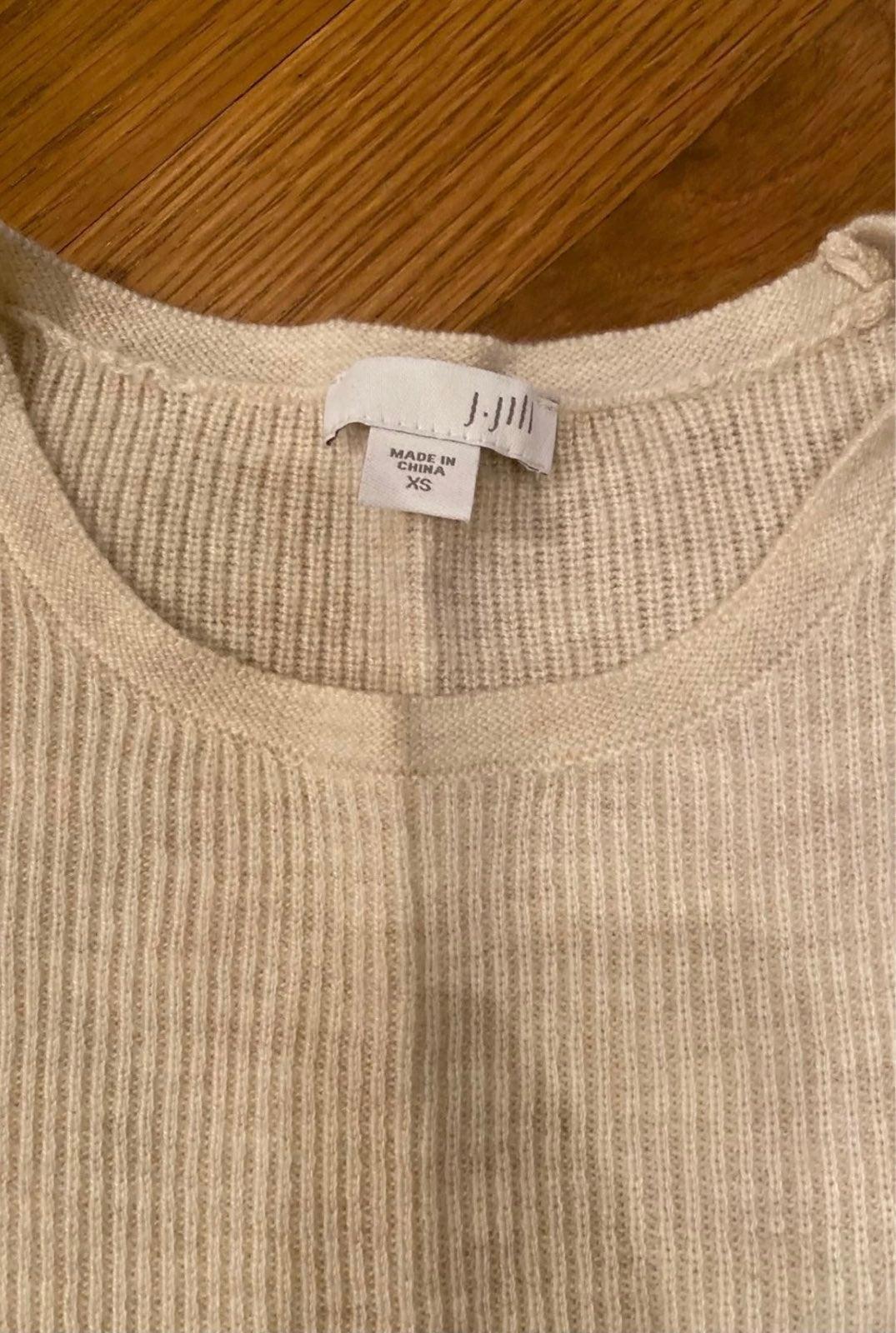 J Jill 3/4 Sleeve Soft Light Sweater XS