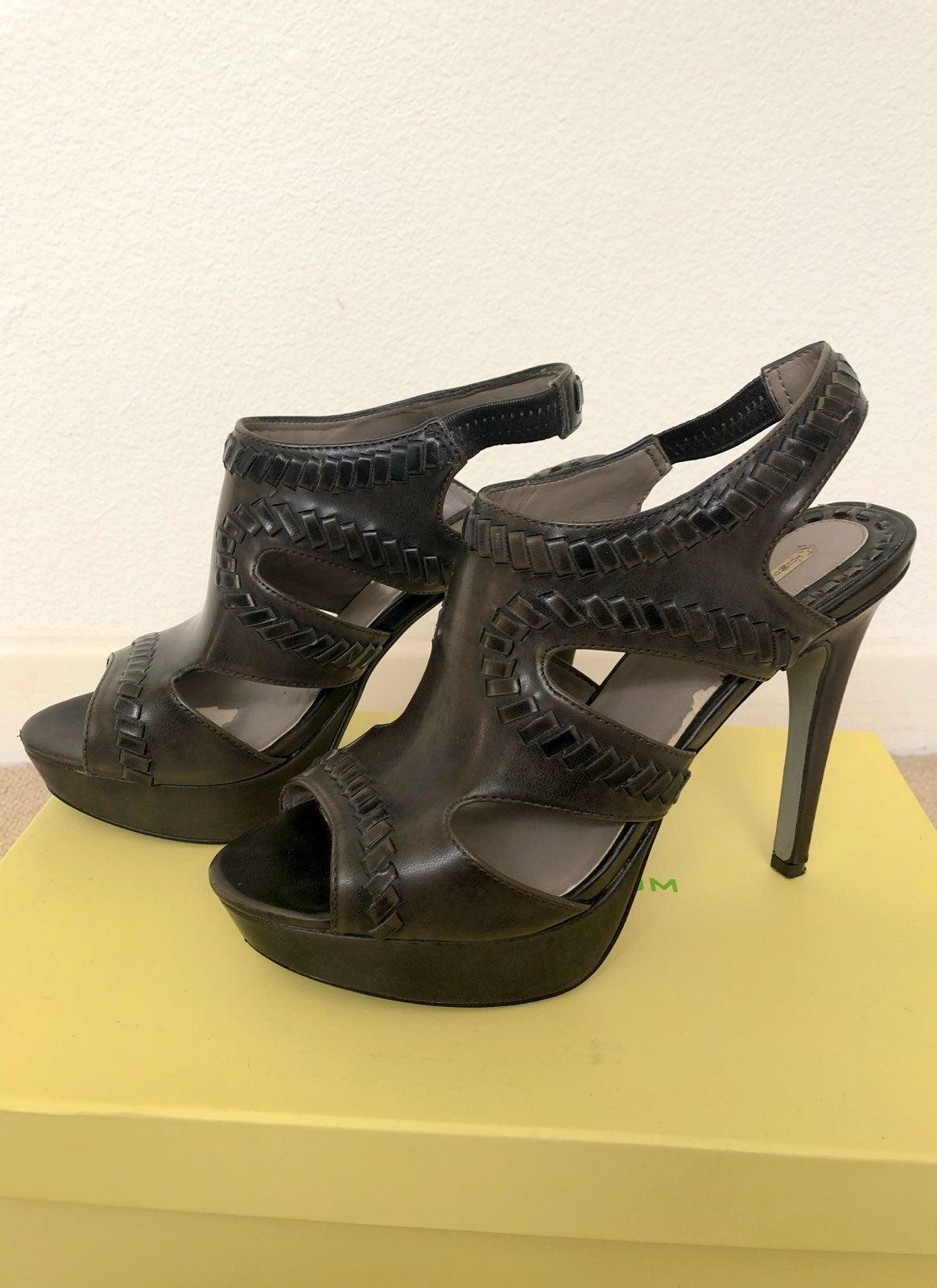 MaxStudio Xist Platform Heeled Sandal