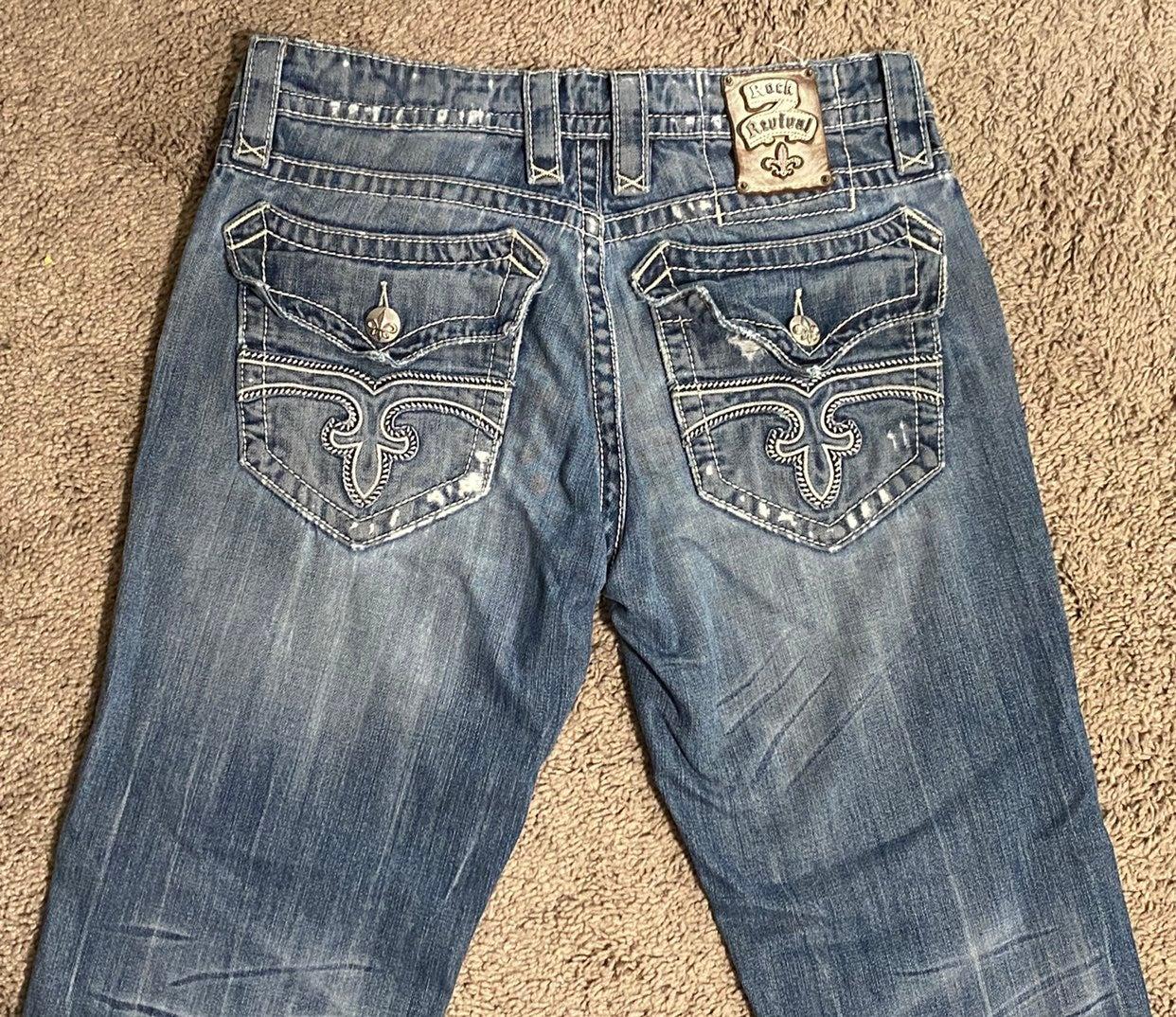 Rock Revival Freddie Straight Jeans men