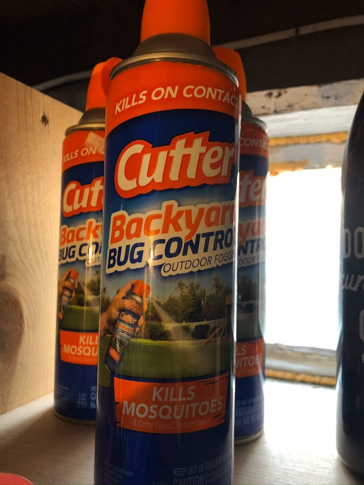 Cutter Backyard Bug Control and OFF