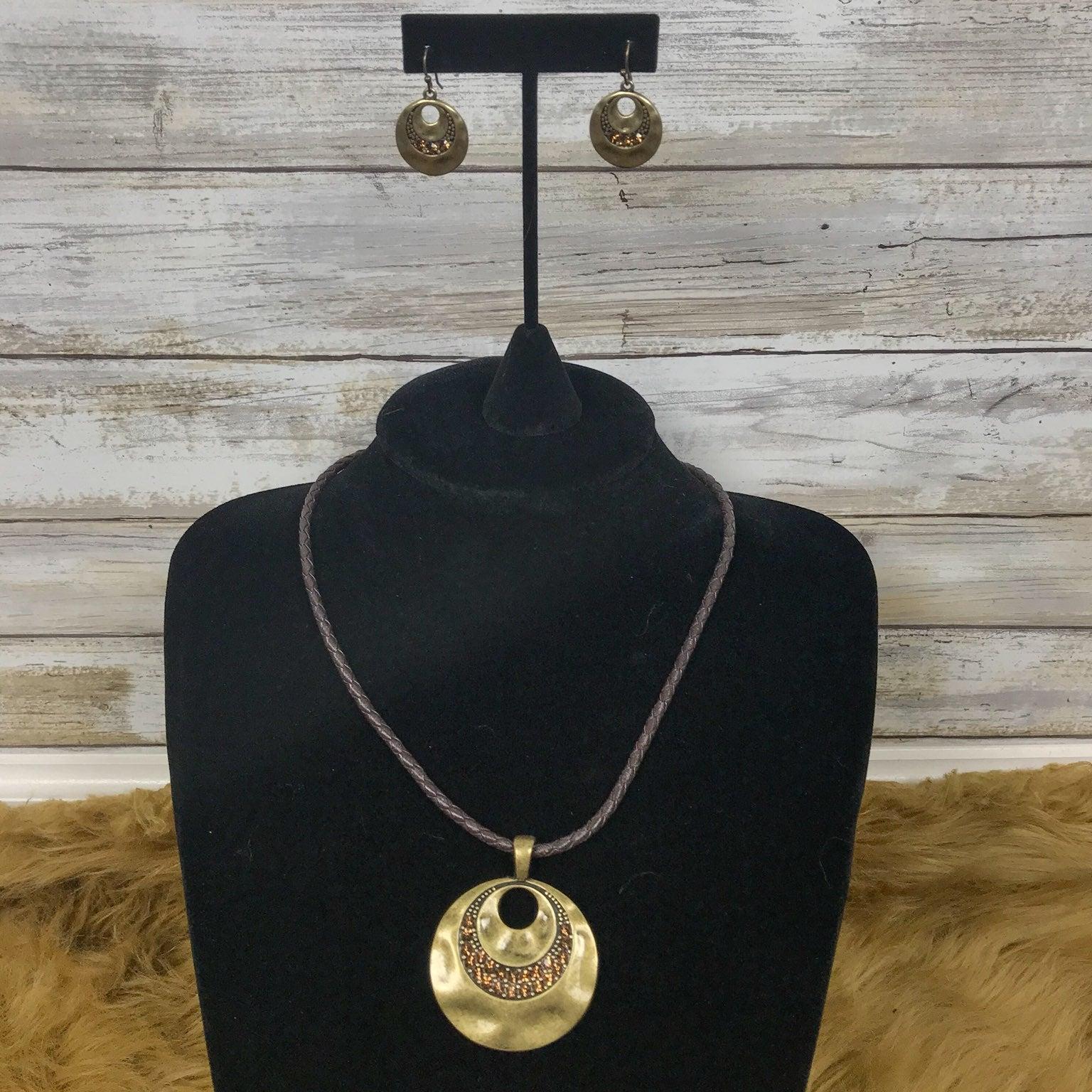 Lia Sophia Necklace & Earrings