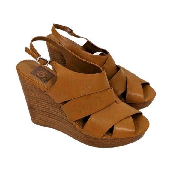 Dolce Vita Marsee Tan Wedge Sandals