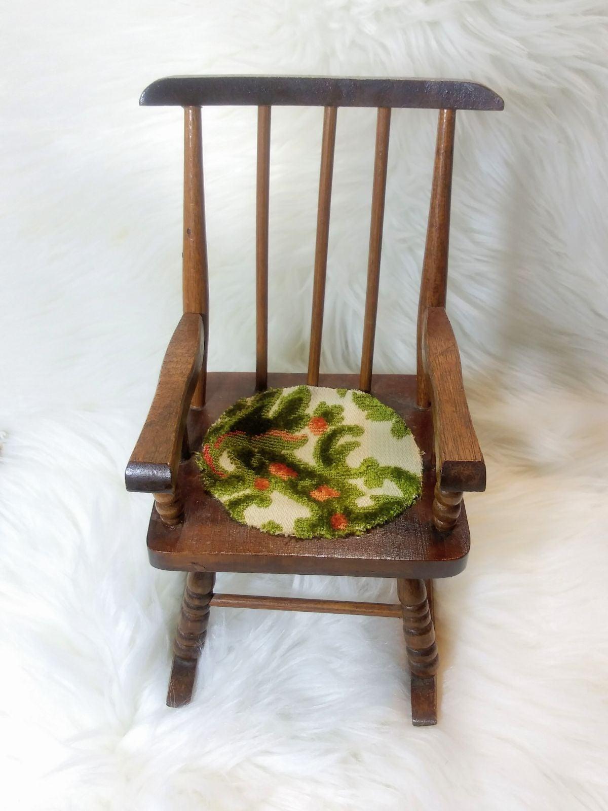 Vintage Brown Wooden Chair