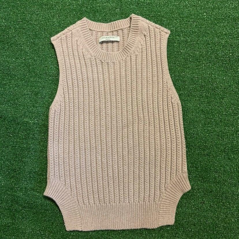 All Saints Women's Sweater Tank Top