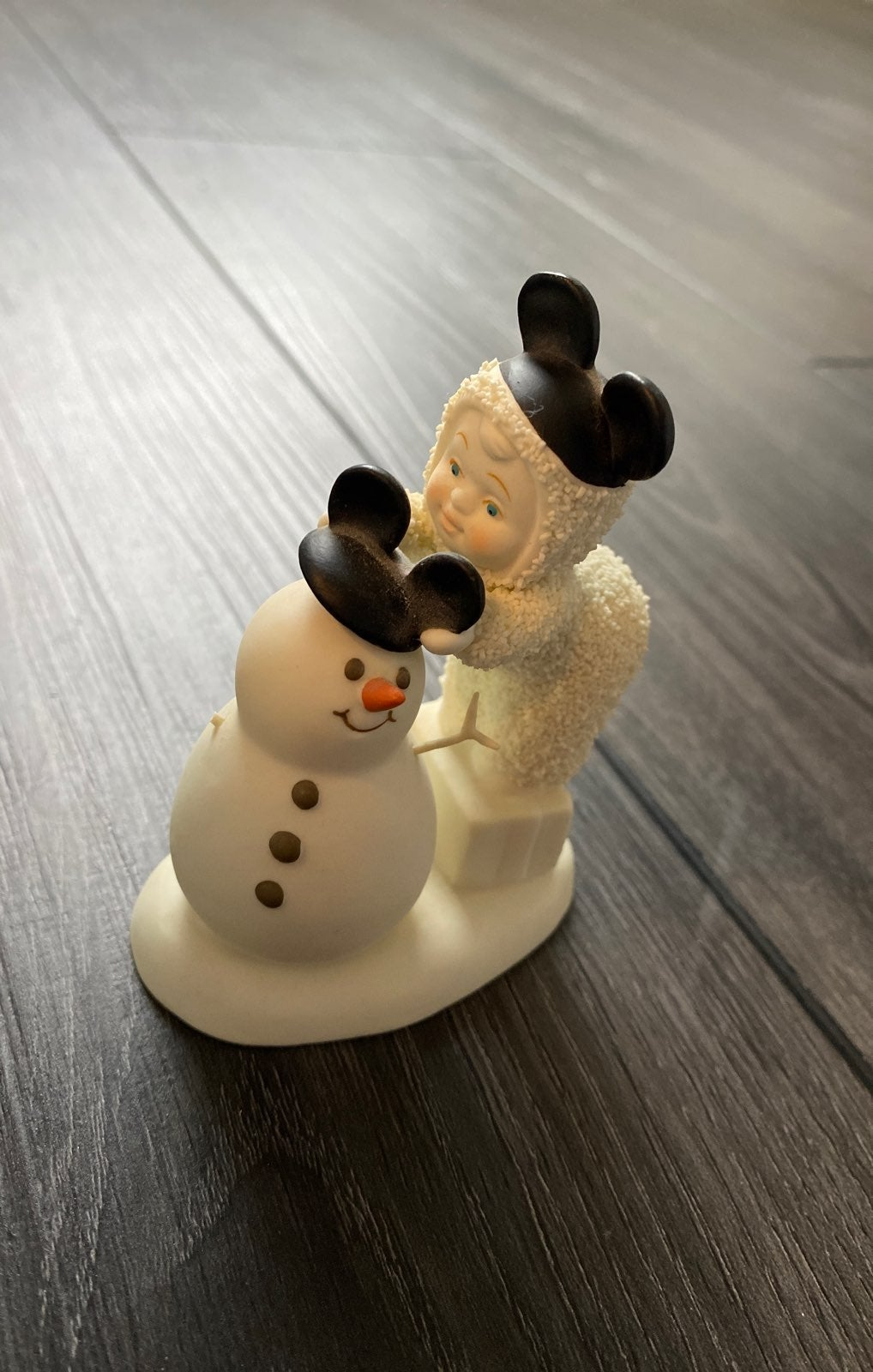 Retired Mickey Mouse Disney snowbabies
